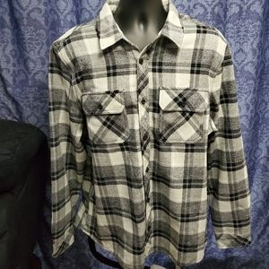 BC Clothing Heritage Buttondown Flannel Shirt - XL